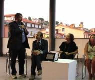 Premio Poeti ed Artisti Liguri nel Mondo 2013 a Vanessa Beecroft