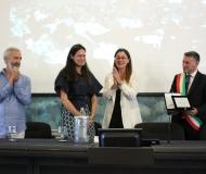 """Premio Lerici Pea 2016  """"alla Carriera""""  a Cees Noteboom"""