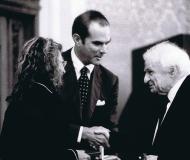 2001 Premio all'Opera Poetica a Ives Bonnefoy